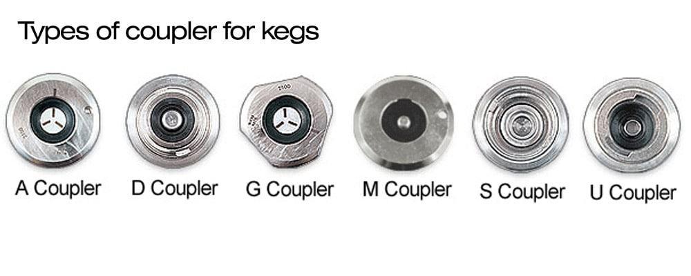 keg coupler styles