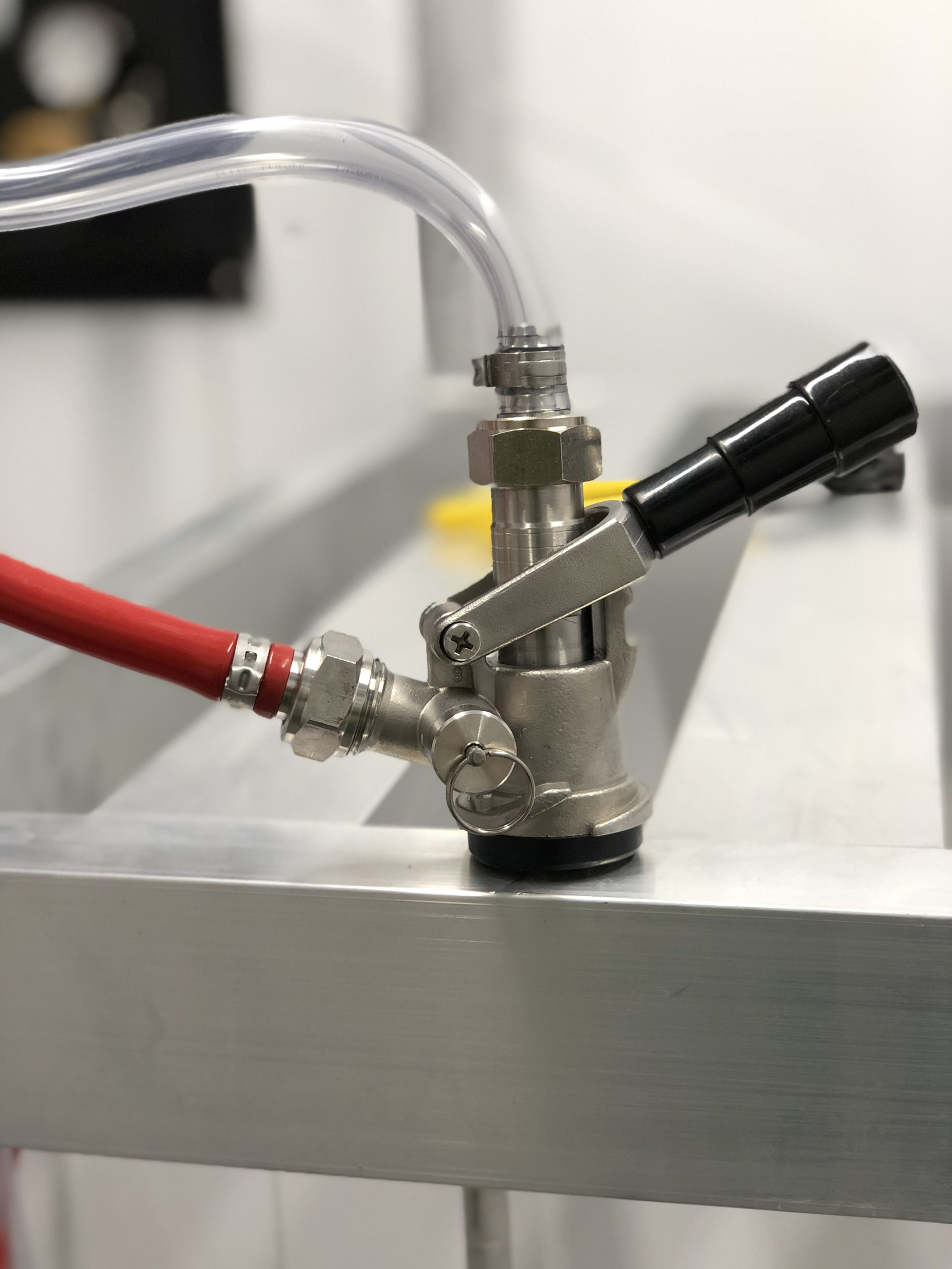 Picture of a beer coupler