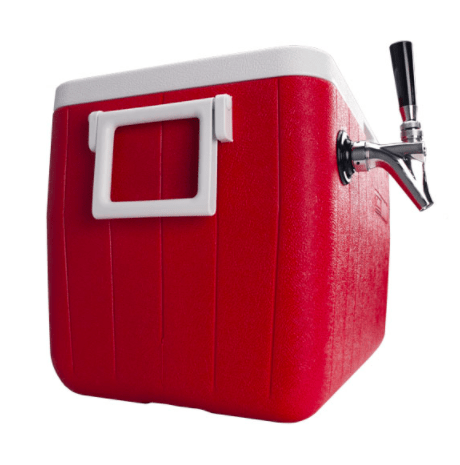 Picture of a beer jockey box