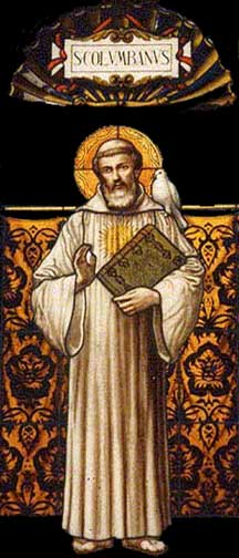 Picture of St. Columbanus