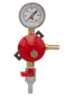 Picture of a secondary regulator